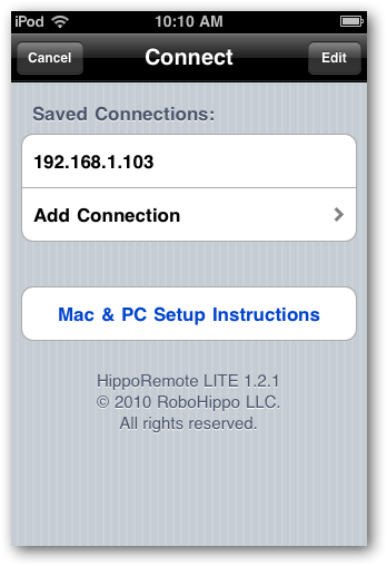 Iphod as Remote for Your PC