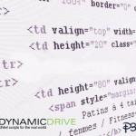 با Dynamic Drive از جستجوی کد بی نیاز شوید